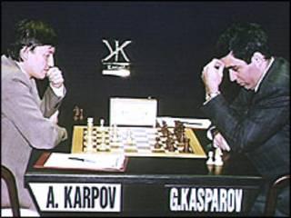 अनातोली कारपोव और गैरी कास्परोव