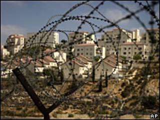 विवादित यहूदी बस्ती