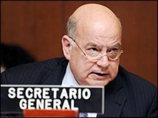 José Miguel Insulza, secretário-geral da OEA