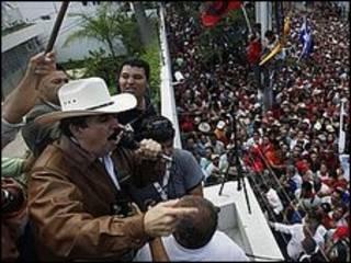 Manuel Zelaya en Honduras