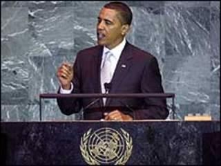 اوباما في الامم المتحدة