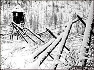 Бывший лагерь ГУЛАГа