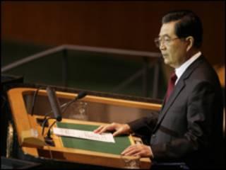 الرئيس الصيني، هو جينتاو
