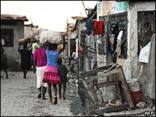 Pobreza en Haití