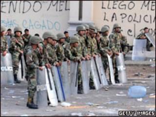 Forças hondurenhas cercam a Embaixada do Brasil em Tegucigalpa