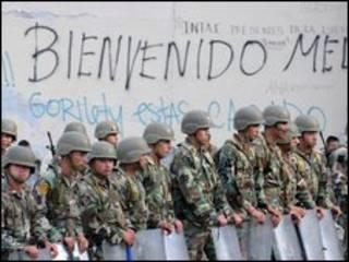 Quân đội Honduras bao vây đại sứ quán Brasil tại thủ đô Tegucigalpa