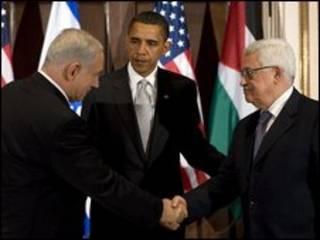 Ông Obama gặp hai nhà lãnh đạo Israel và Palestine tại New York