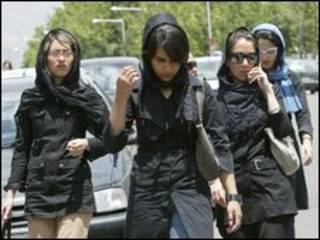 دختران در تهران