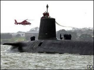 زیردریایی ترایدنت