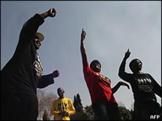 Ativistas de direitos dos homossexuais na África do Sul