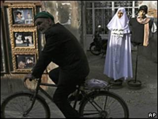 Maniquíes en Irán.