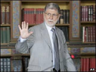 O ministro das Relações Exteriores, Celso Amorim