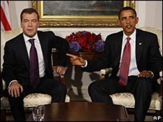 الرئيسان الروسي والأمريكي