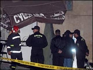 تفجير في الدار البيضاء عام 2007