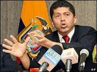 El abogado de los afectados, Pablo Fajardo.