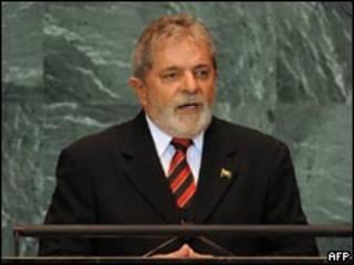 Lula discursa na ONU