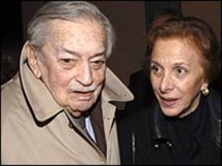 Эртогрул Осман с женой