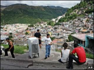 Vista de un sector deTegucigalpa