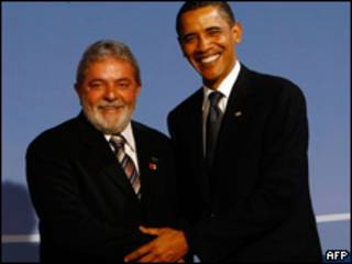 Lula Da Silva y Barack Obama