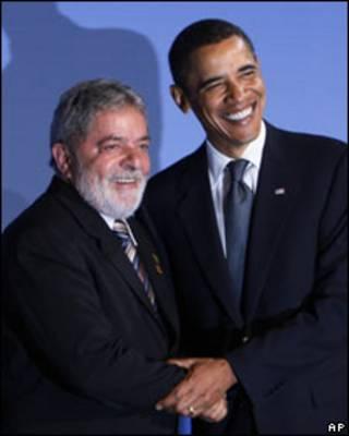 Lula e Obama (arquivo)