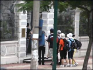 Người Bắc Hàn đột nhập đại sứ quán Đan Mạch hôm 24/09