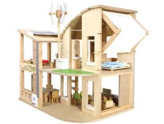 Casa de muñecas ecológica