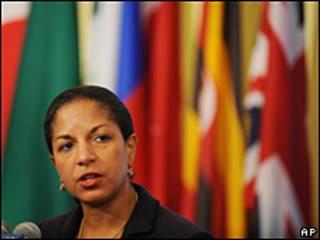 Susan Rice, enviada de EE.UU. en la ONU