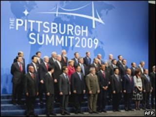 Líderes del G 20