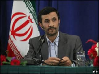 Mahmoud Ahmadinejad, presidente de Irán