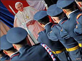 Benedicto XVI en Praga