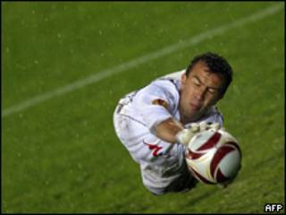 Arquero de fútbol