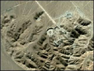 مرکز غنی سازی هسته ای در نزدیکی قم