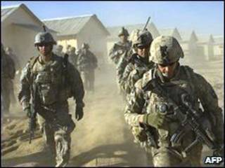 جنود امريكيون في افغانستان