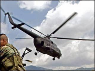 Operativo antiguerrilla en Colombia (foto de archivo)