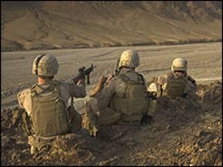 جنود من قوات التحالف في افغانستان