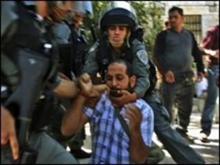 صدامات القدس