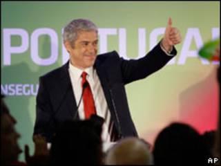 O primeiro-ministro de Portugal, José Sócrates