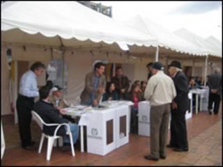 Votación en Colombia (foto Hernando Salazar)
