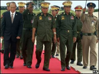 Junta Militar birmana