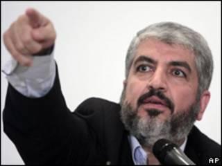 Khaled Meshaal, líder exiliado de Hamas