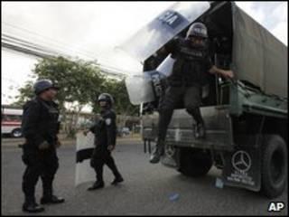 قوات الأمن الهندوراسية