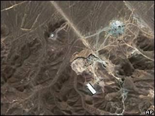 صورة بالأقمار الصناعية للموقع المفترض