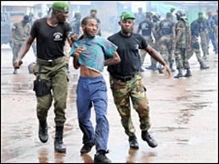 Machafuko ya kisiasa nchini Guinea