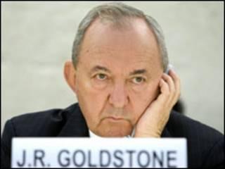 القاضي الجنوب إفريقي ريتشارد جولدستون