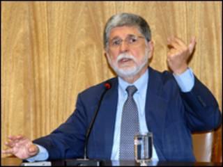 O ministro das Relações Exteriores, Celso Amorim (Foto: Renato Araujo/ABr)