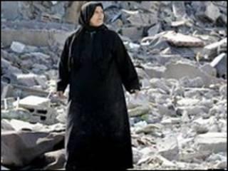 مواطنة فلسطينية من رفح