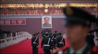 Chuẩn bị trước quảng trường Thiên An Môn