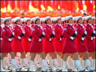 رژه در پکن