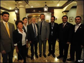 Delegación brasileña en Tegucigalpa