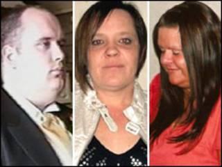 Colin Blanchard, Vanessa George e Angela Allen